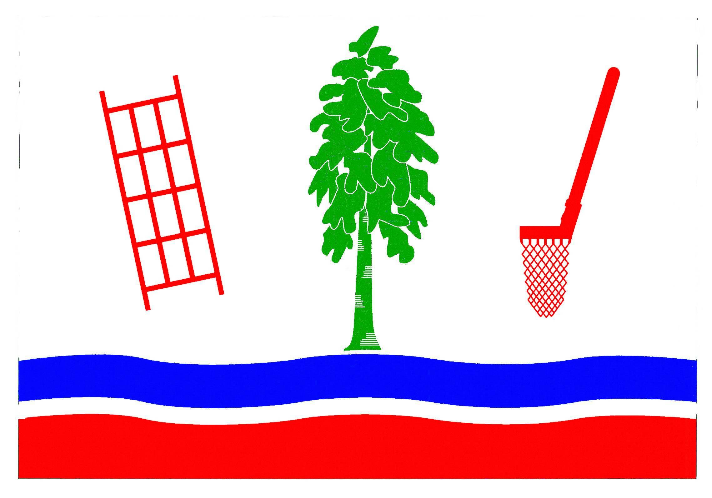 Flagge GemeindeKrempermoor, Kreis Steinburg
