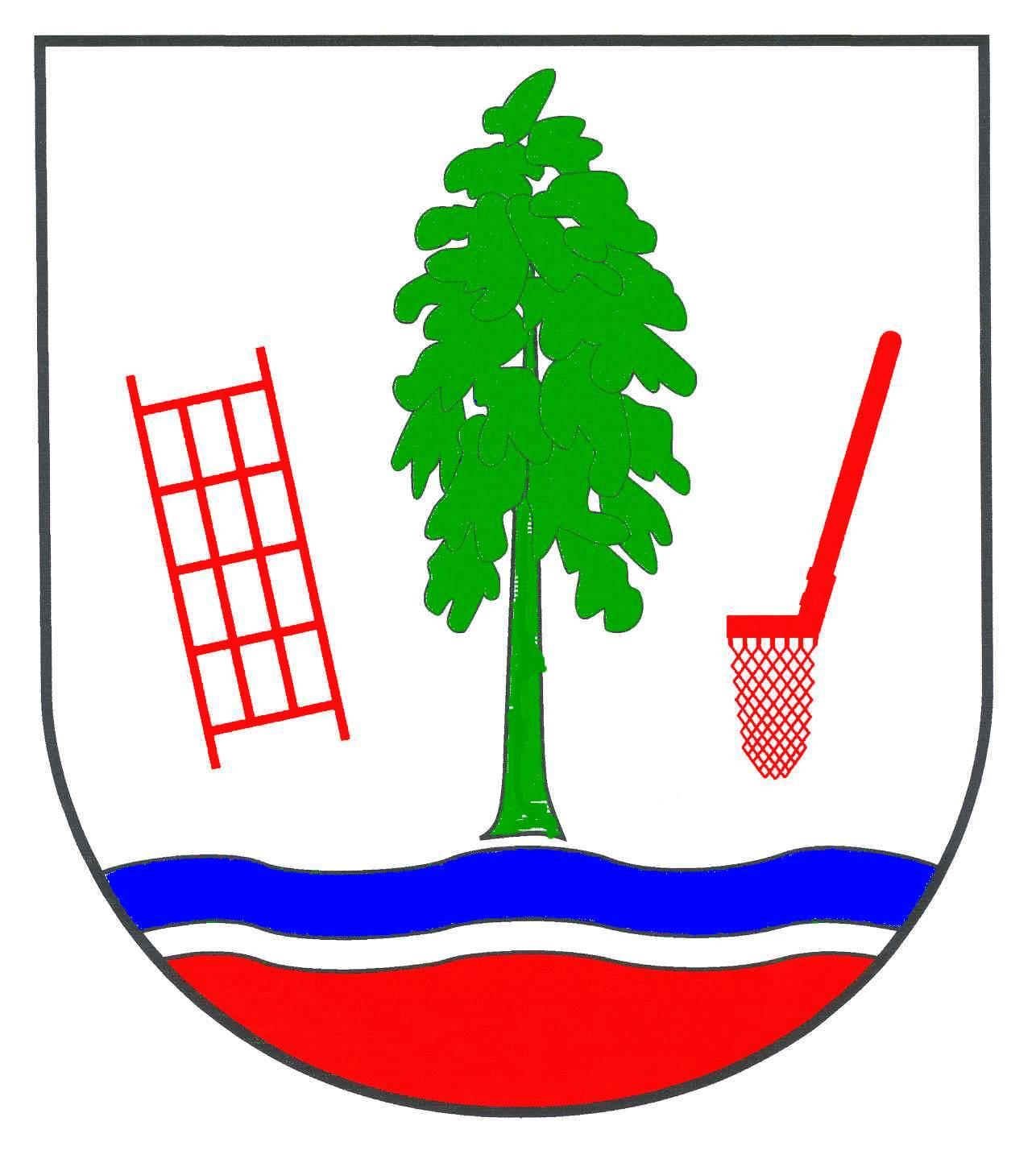 Wappen GemeindeKrempermoor, Kreis Steinburg