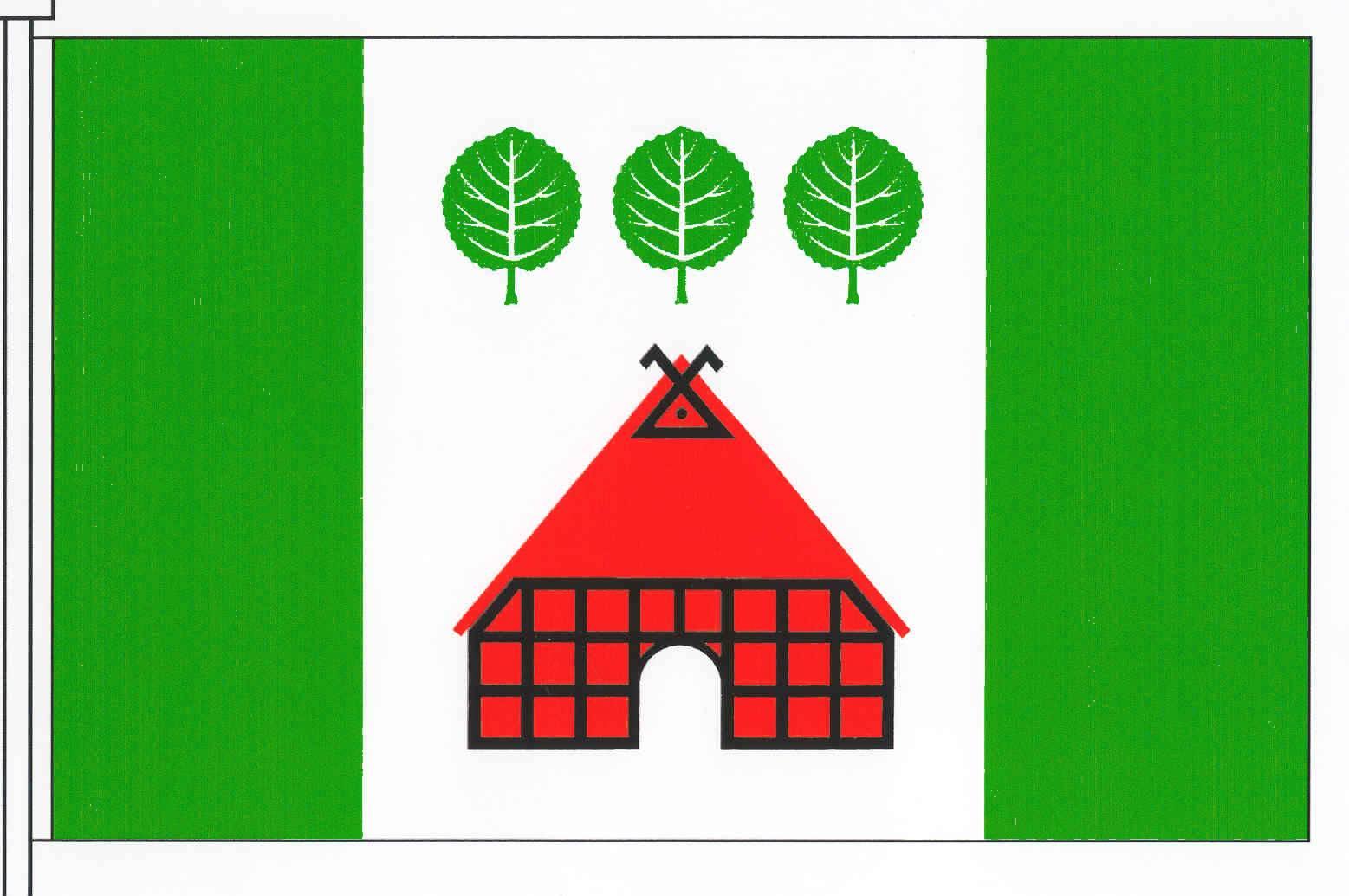 Flagge GemeindeKrogaspe, Kreis Rendsburg-Eckernförde