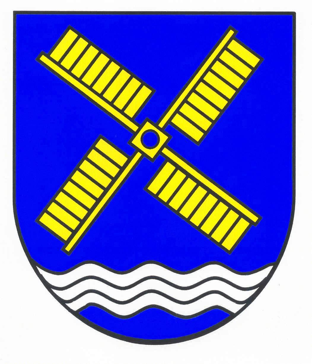 Wappen GemeindeKrokau, Kreis Plön