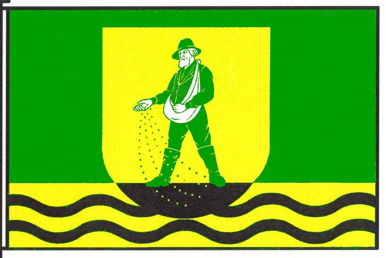 Flagge GemeindeKronprinzenkoog, Kreis Dithmarschen