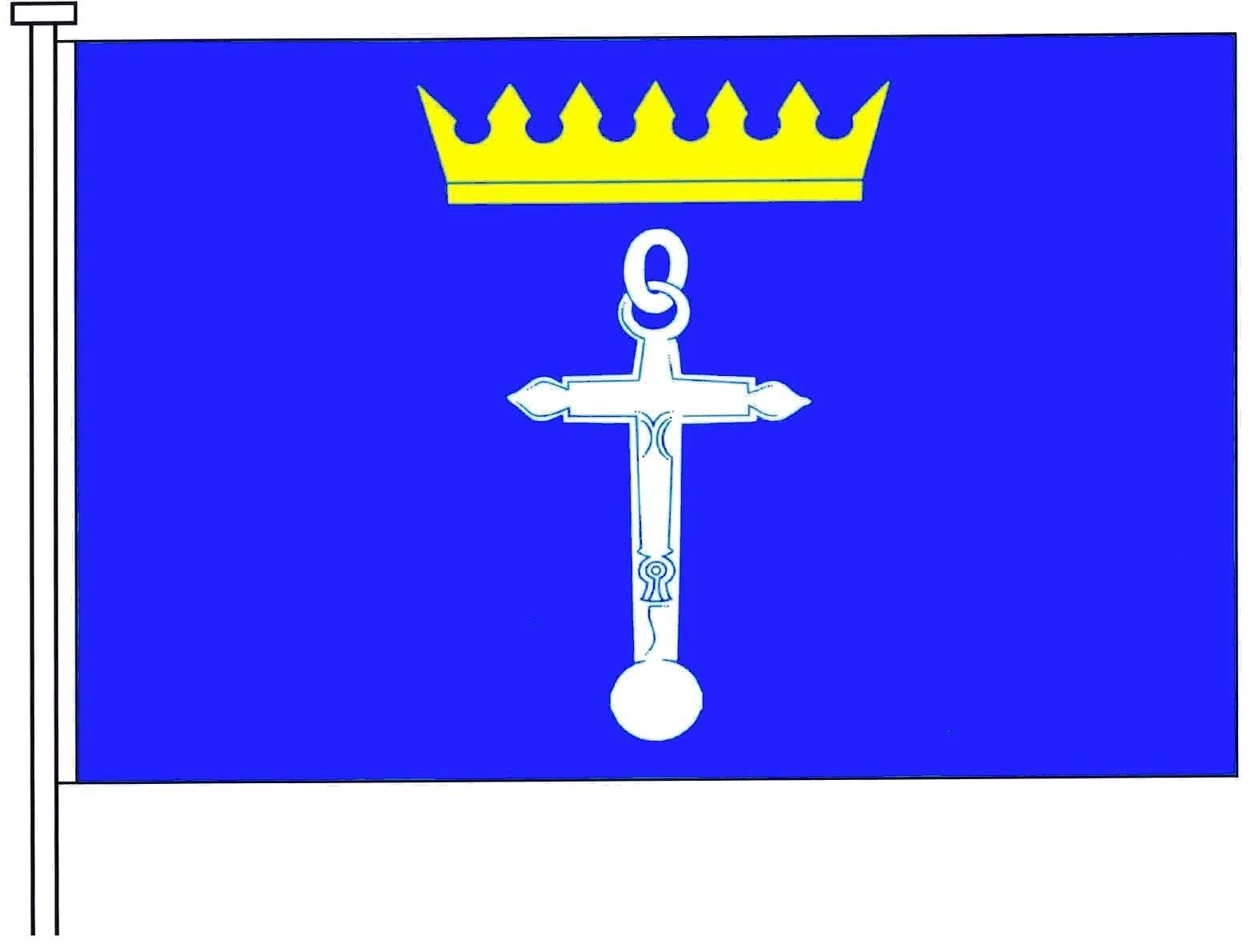 Flagge GemeindeKronsgaard, Kreis Schleswig-Flensburg