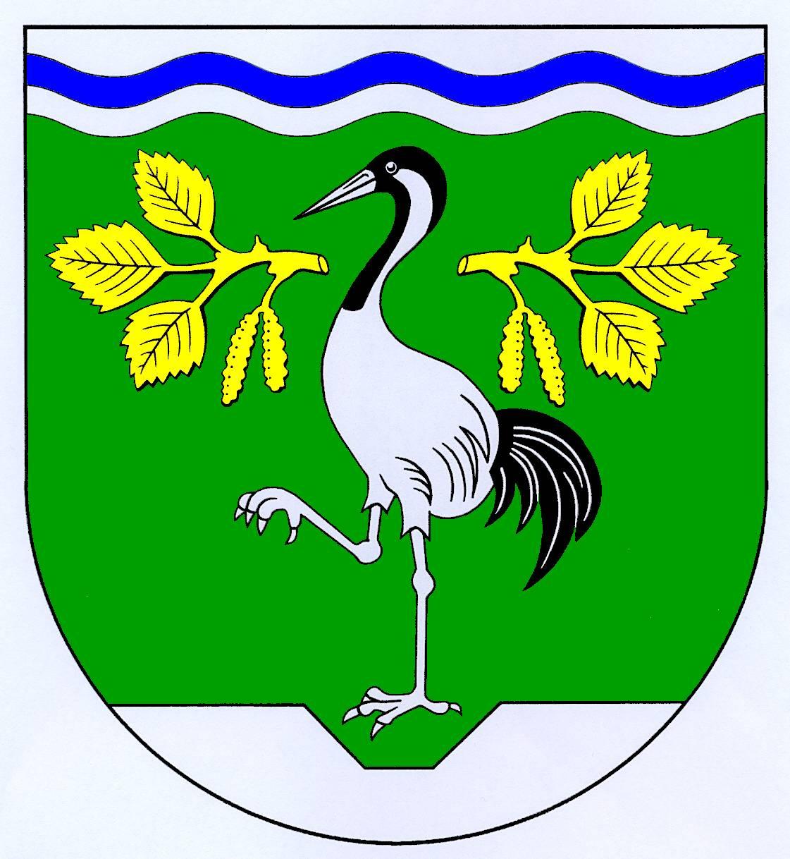 Wappen GemeindeKronsmoor, Kreis Steinburg