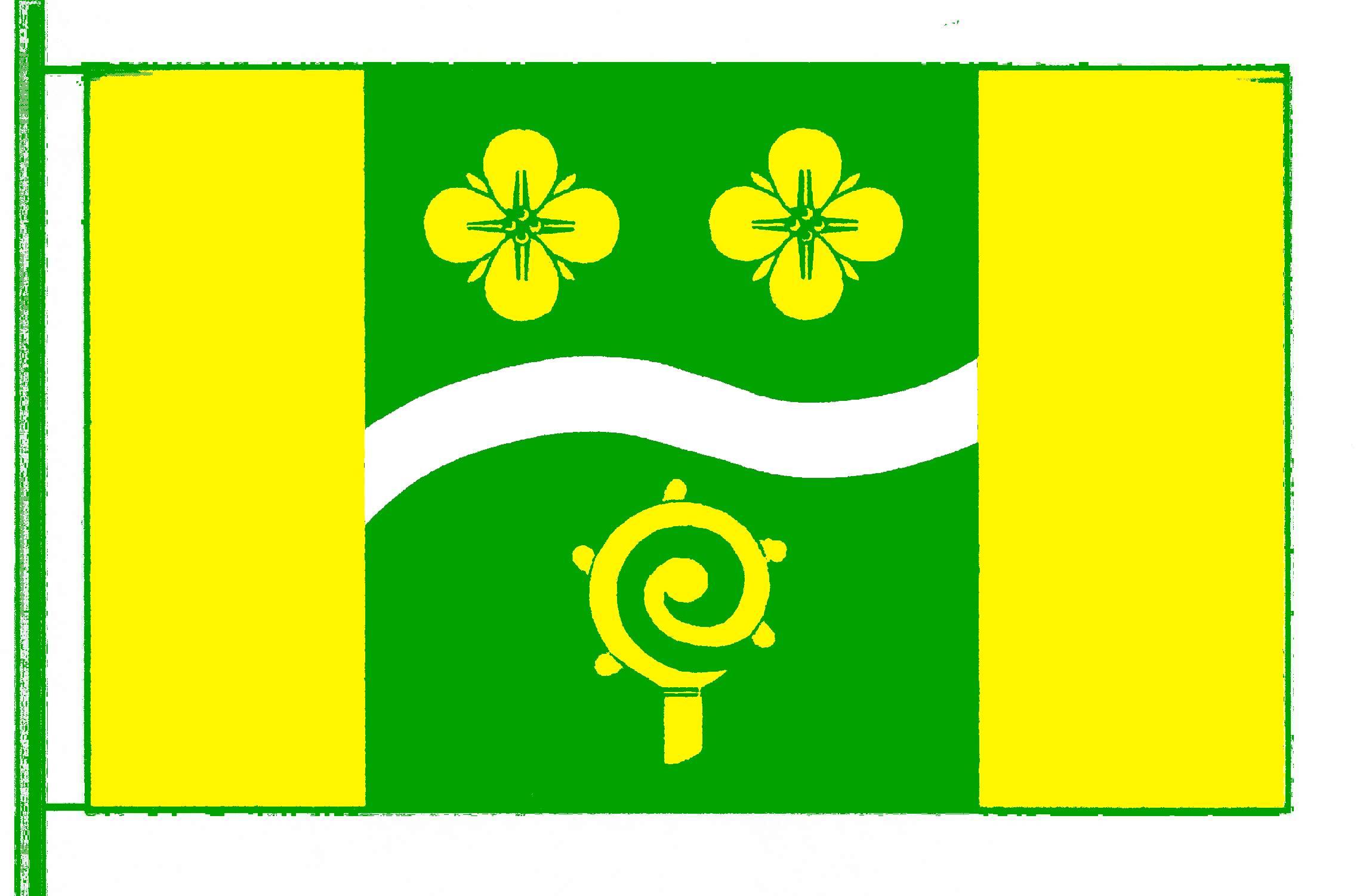 Flagge GemeindeKrummbek, Kreis Plön