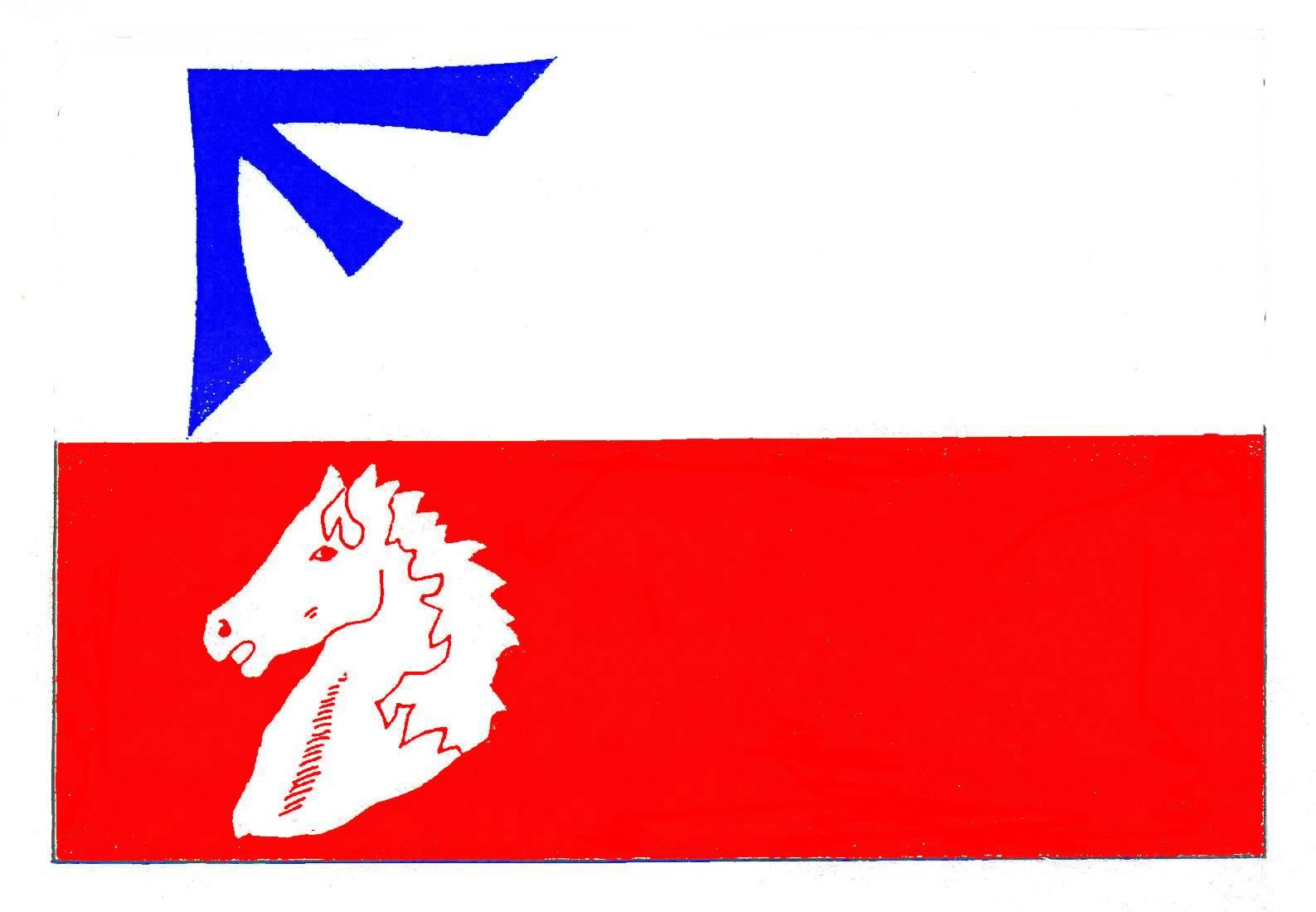 Flagge GemeindeKrummesse, Kreis Herzogtum Lauenburg