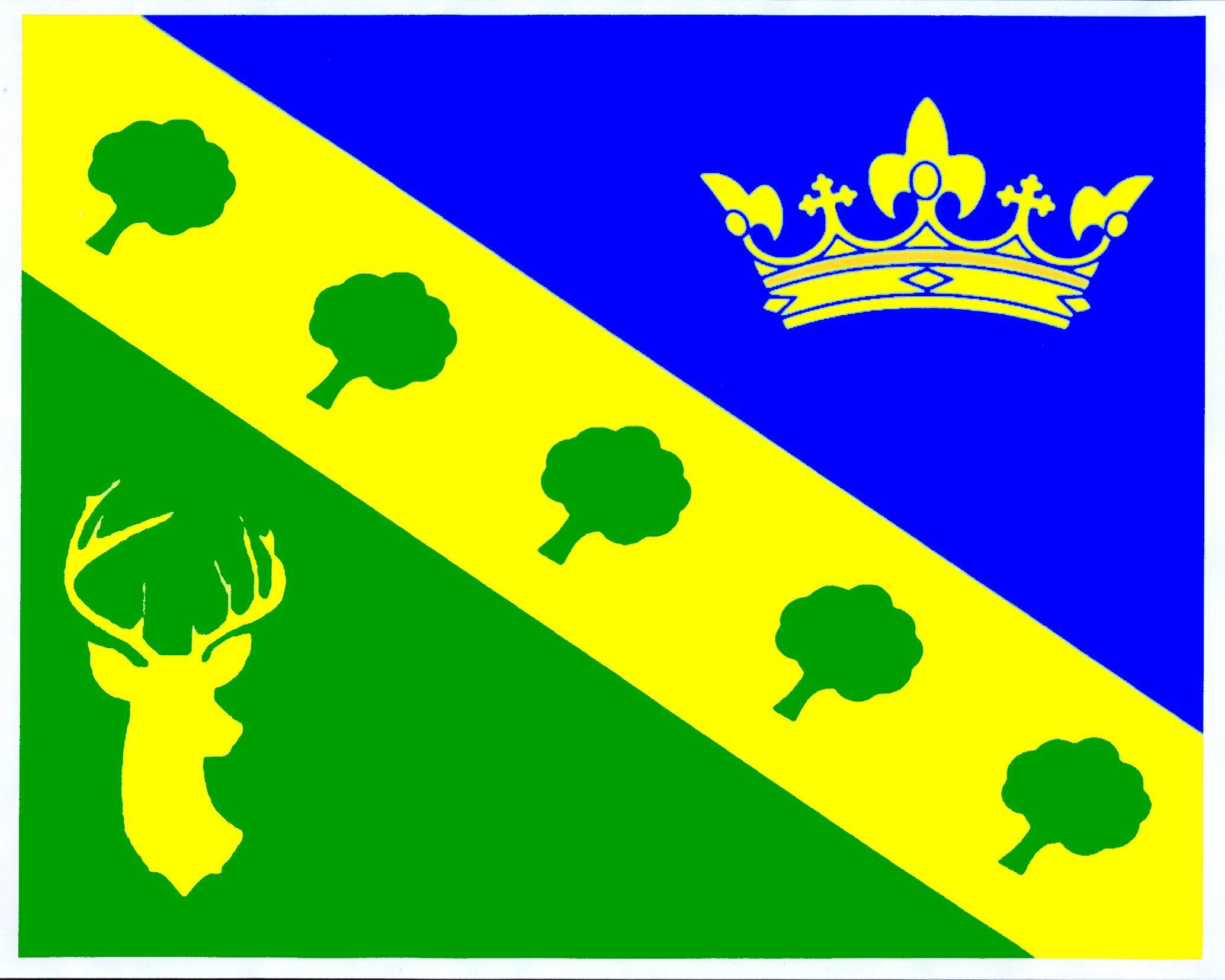 Flagge GemeindeKrummwisch, Kreis Rendsburg-Eckernförde