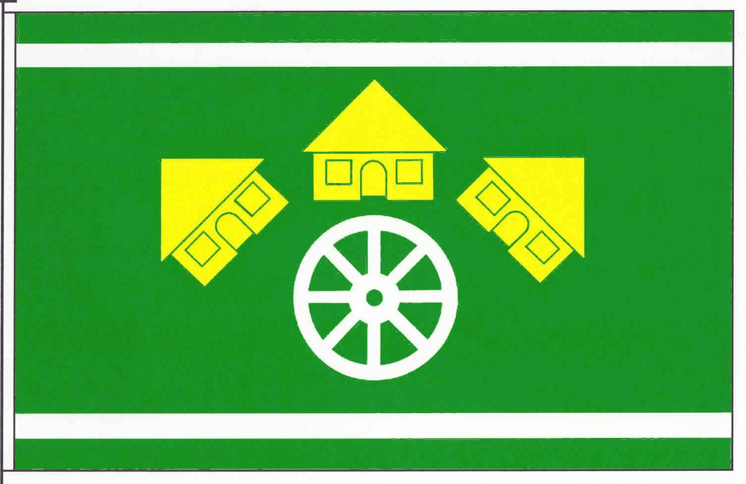 Flagge GemeindeKrumstedt, Kreis Dithmarschen