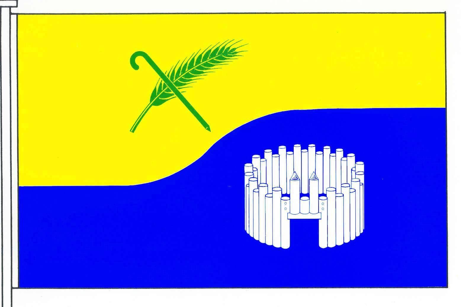 Flagge GemeindeKuden, Kreis Dithmarschen