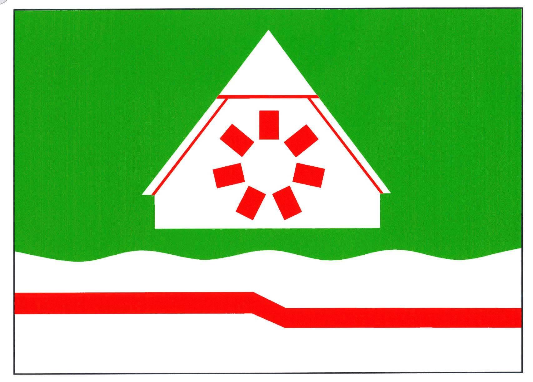 Flagge GemeindeKühsen, Kreis Herzogtum Lauenburg