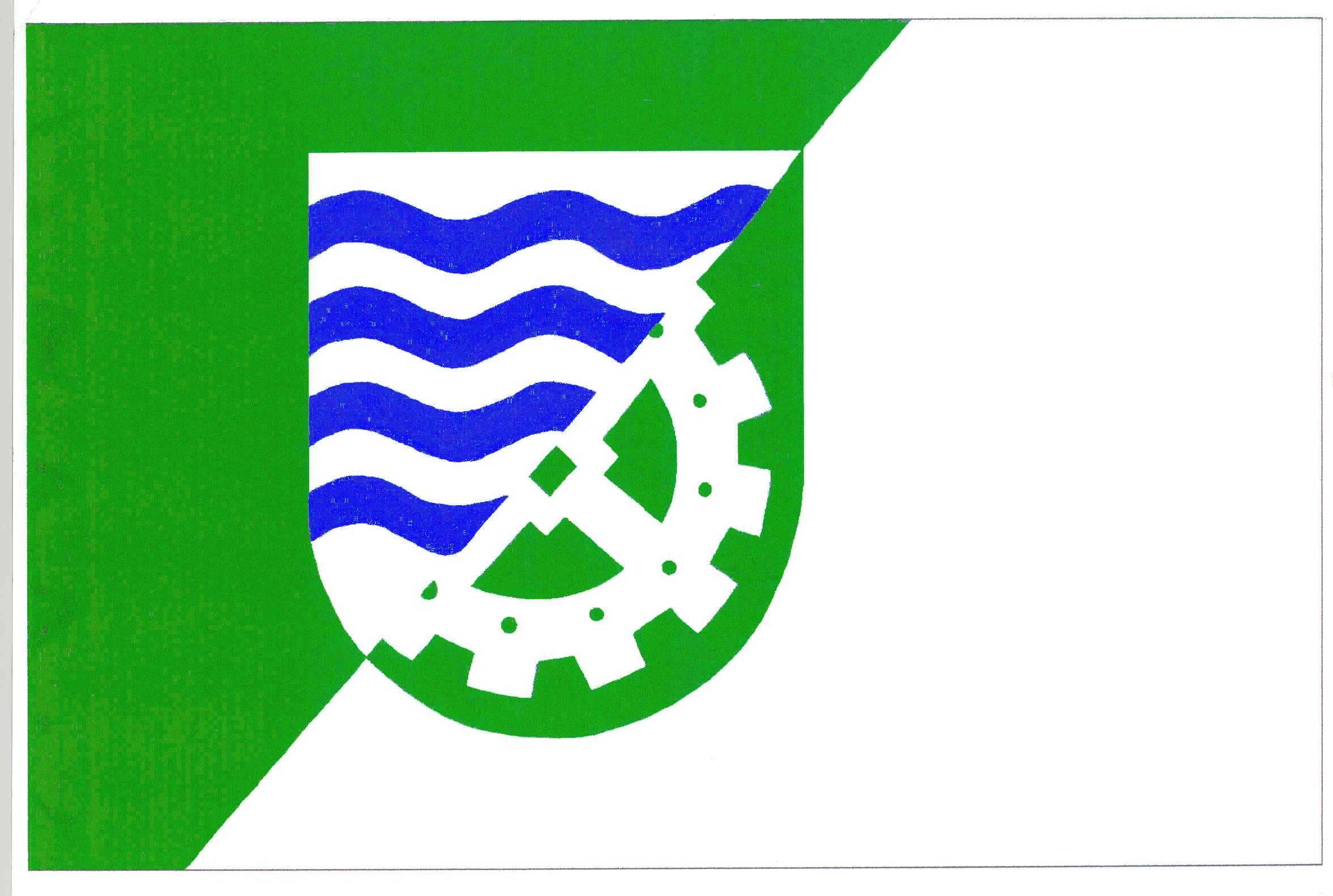 Flagge GemeindeLägerdorf, Kreis Steinburg