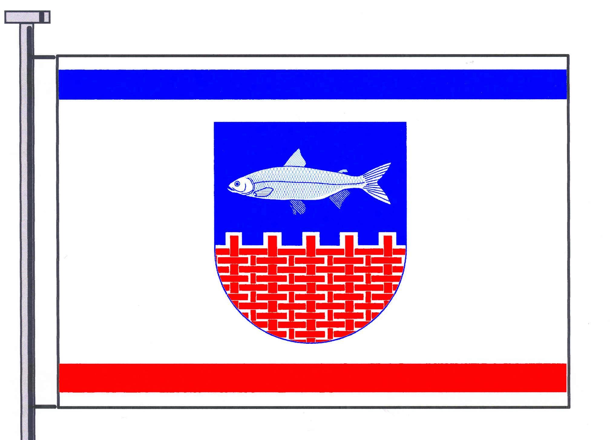 Flagge GemeindeLammershagen, Kreis Plön