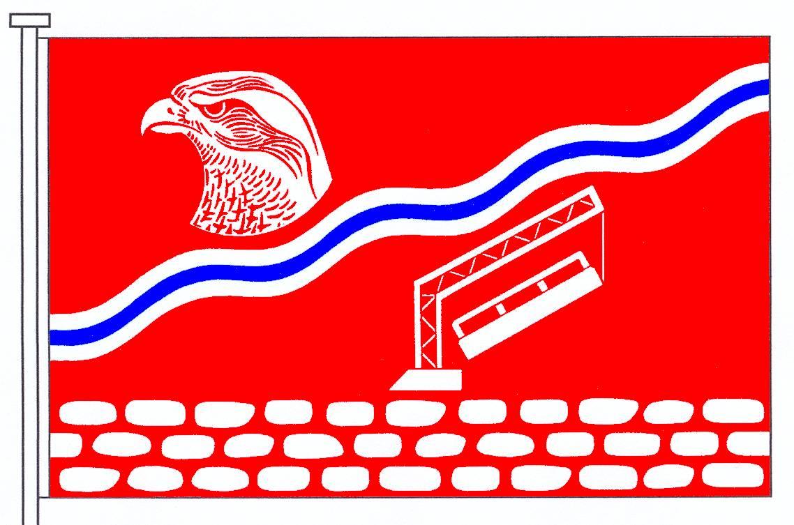 Flagge GemeindeLandrecht, Kreis Steinburg