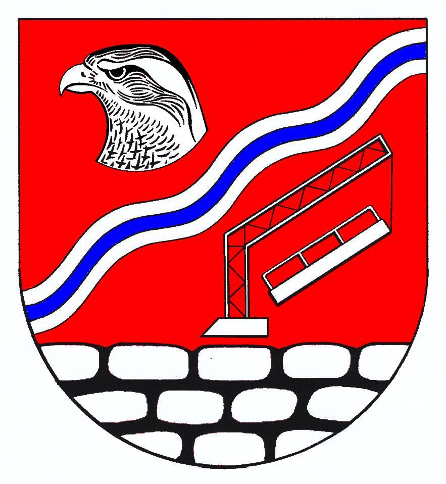 Wappen GemeindeLandrecht, Kreis Steinburg
