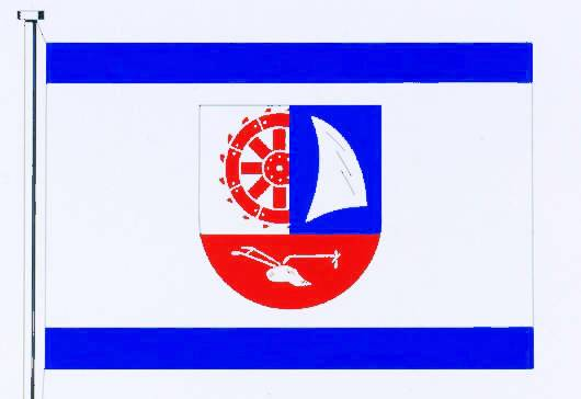Flagge GemeindeLangballig, Kreis Schleswig-Flensburg