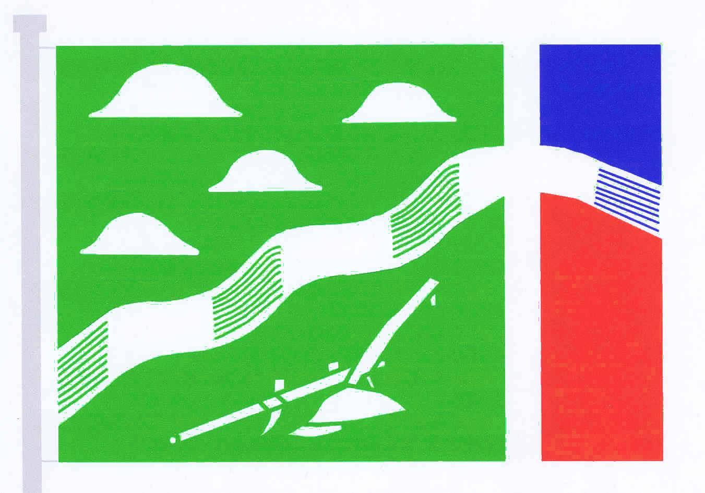 Flagge GemeindeLangeln, Kreis Pinneberg
