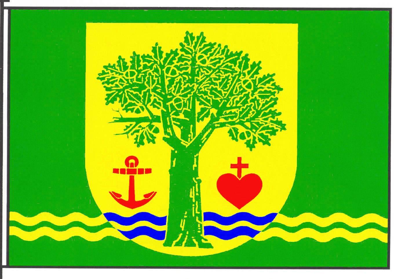 Flagge GemeindeLankau, Kreis Herzogtum Lauenburg
