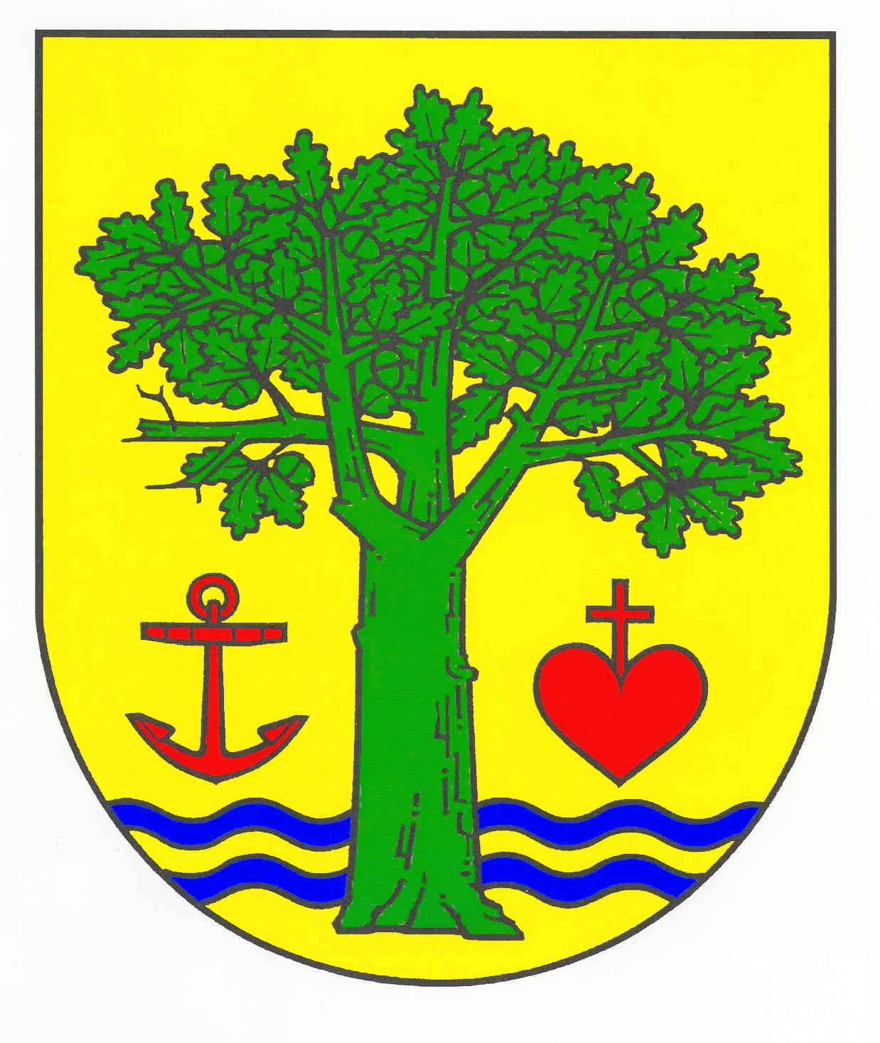 Wappen GemeindeLankau, Kreis Herzogtum Lauenburg