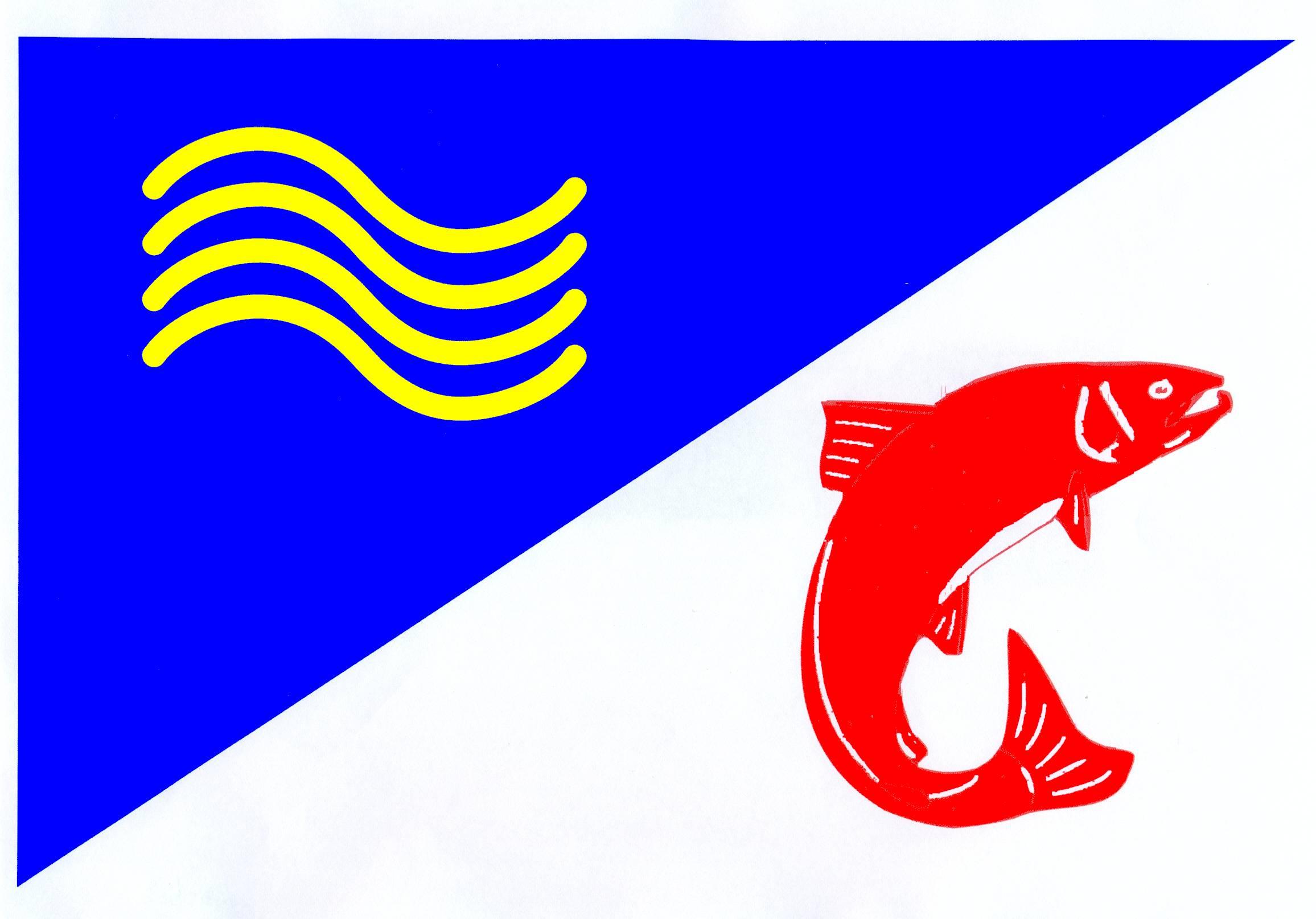 Flagge GemeindeLasbek, Kreis Stormarn