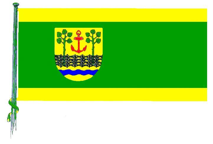 Flagge GemeindeLeck, Kreis Nordfriesland