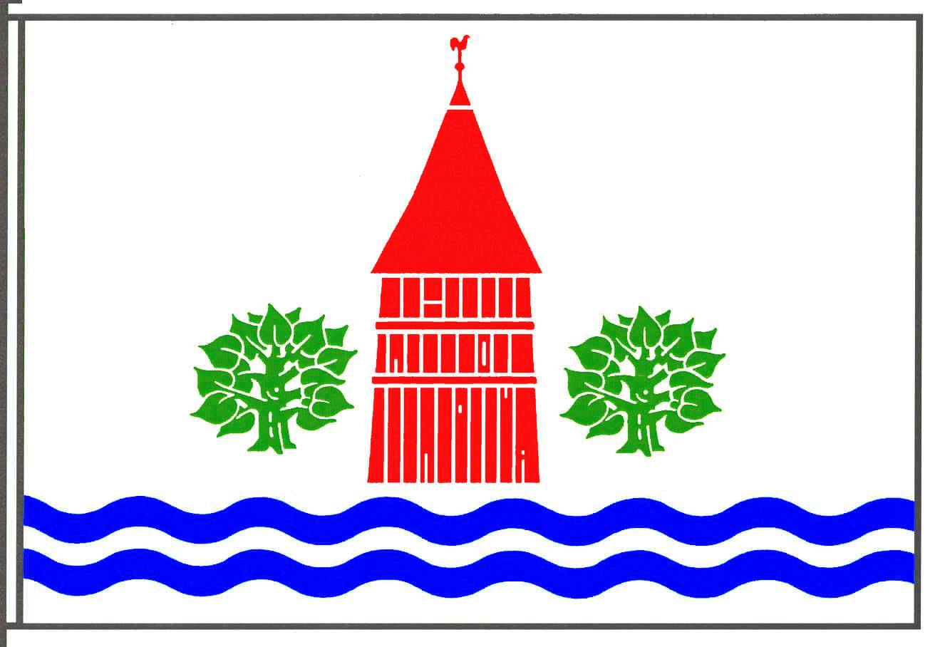 Flagge GemeindeLeezen, Kreis Segeberg
