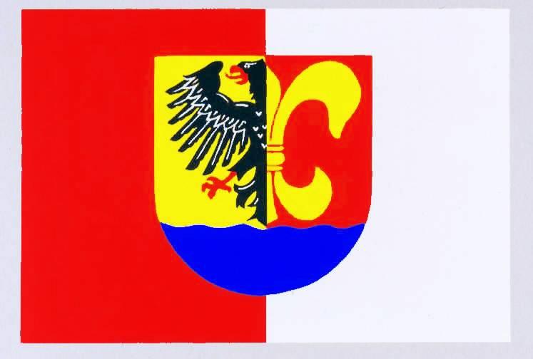 Flagge GemeindeLehe, Kreis Dithmarschen