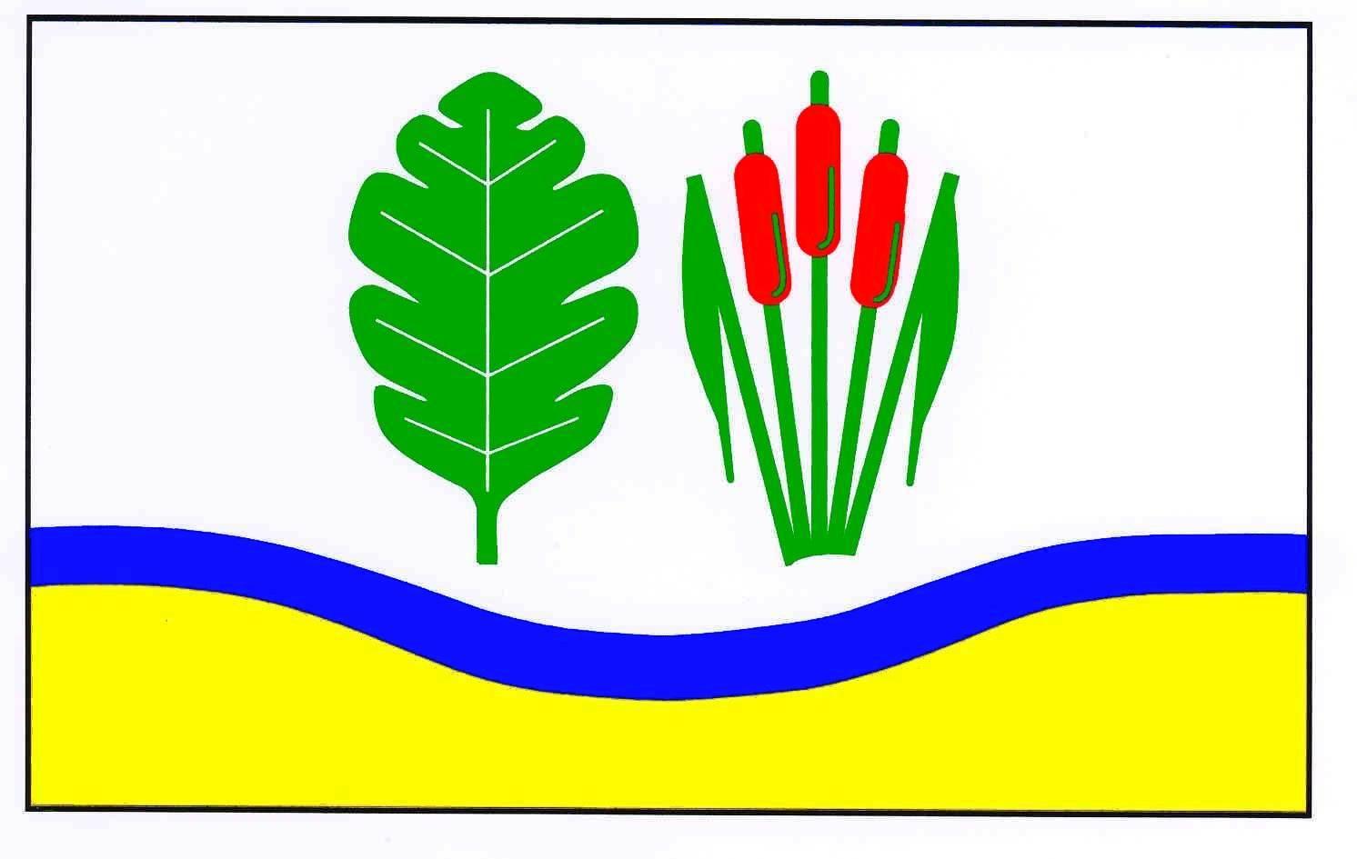 Flagge GemeindeLehmkuhlen, Kreis Plön