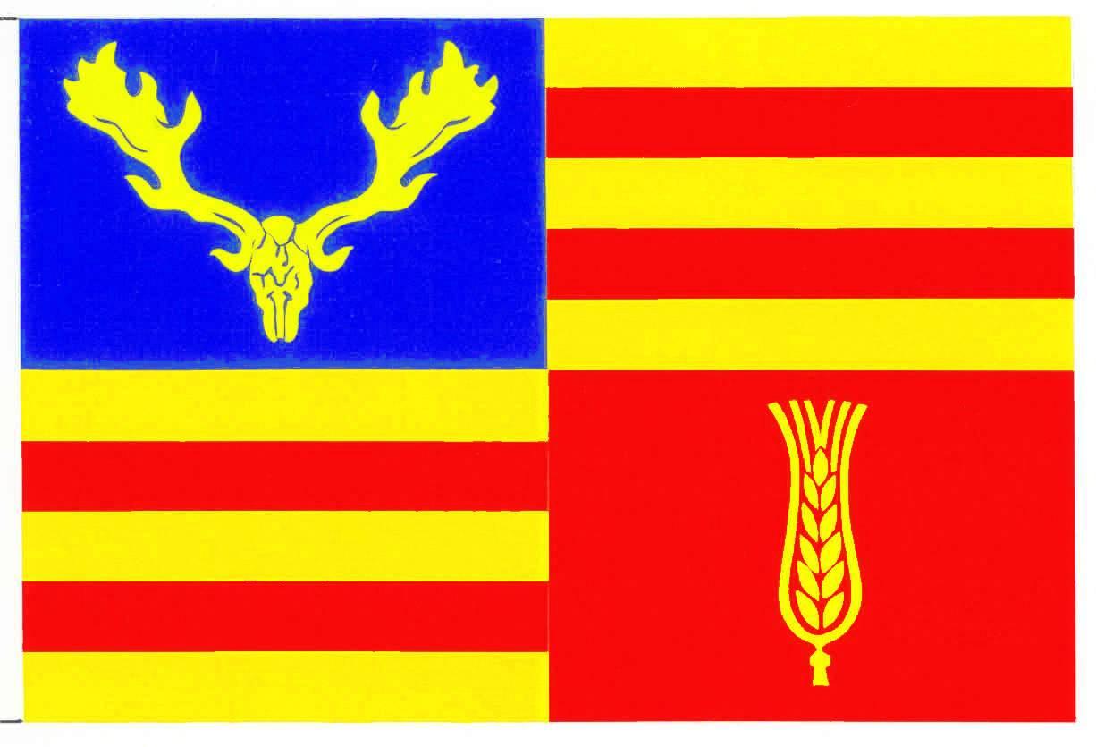Flagge GemeindeLensahn, Kreis Ostholstein