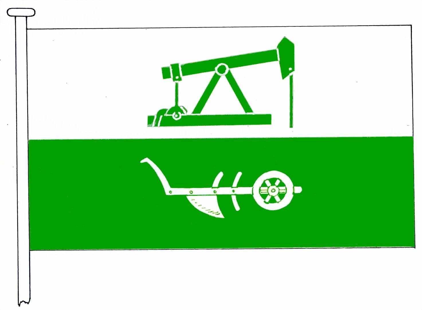 Flagge GemeindeLieth, Kreis Dithmarschen