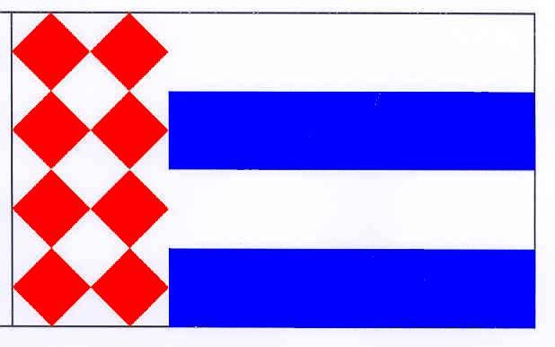 Flagge GemeindeLöptin, Kreis Plön