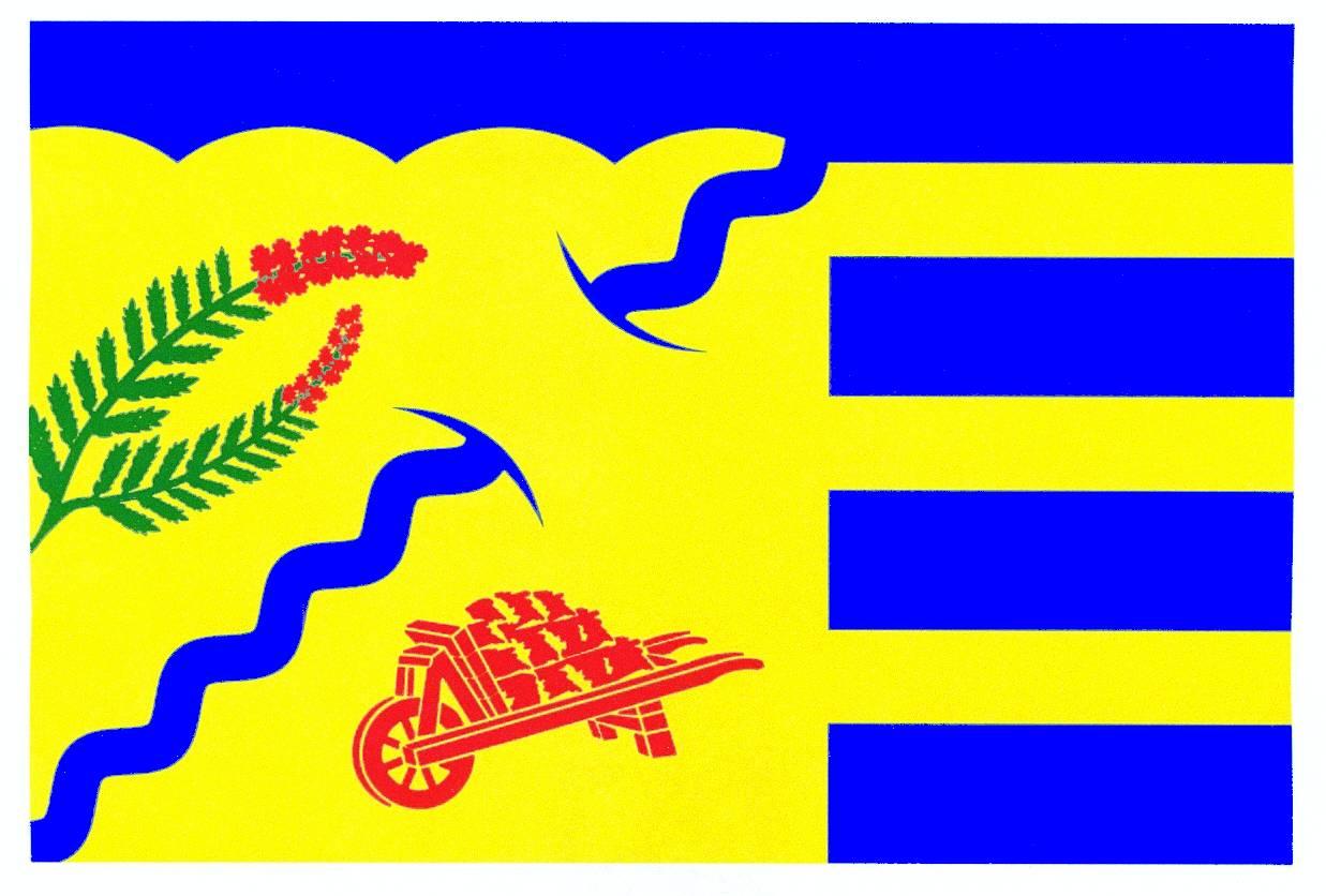 Flagge GemeindeLöwenstedt, Kreis Nordfriesland
