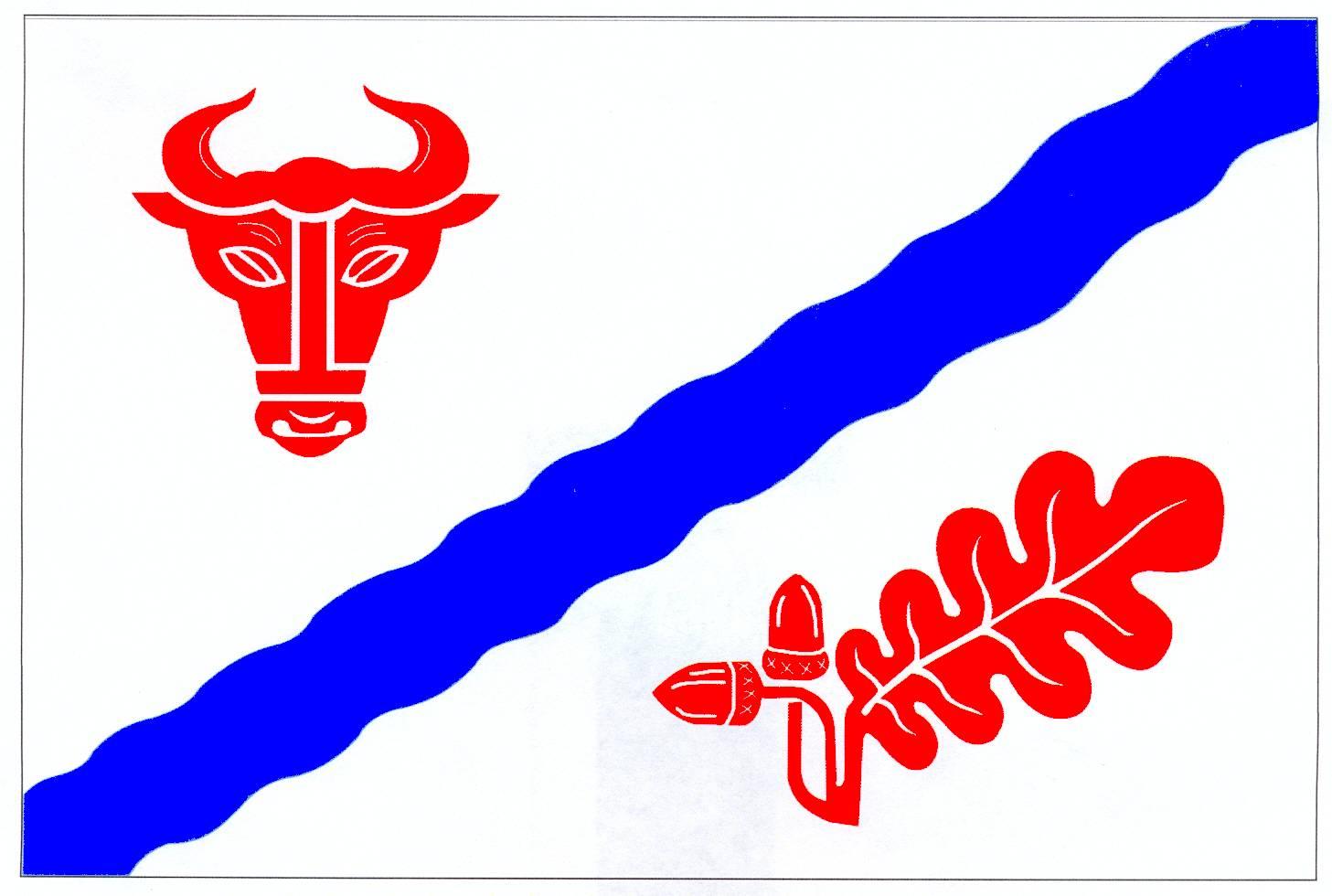 Flagge GemeindeLohbarbek, Kreis Steinburg