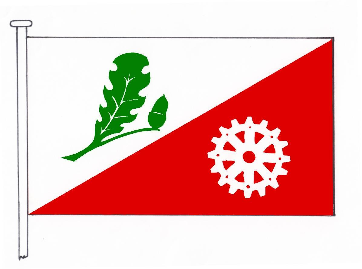 Flagge GemeindeLohe-Rickelshof, Kreis Dithmarschen