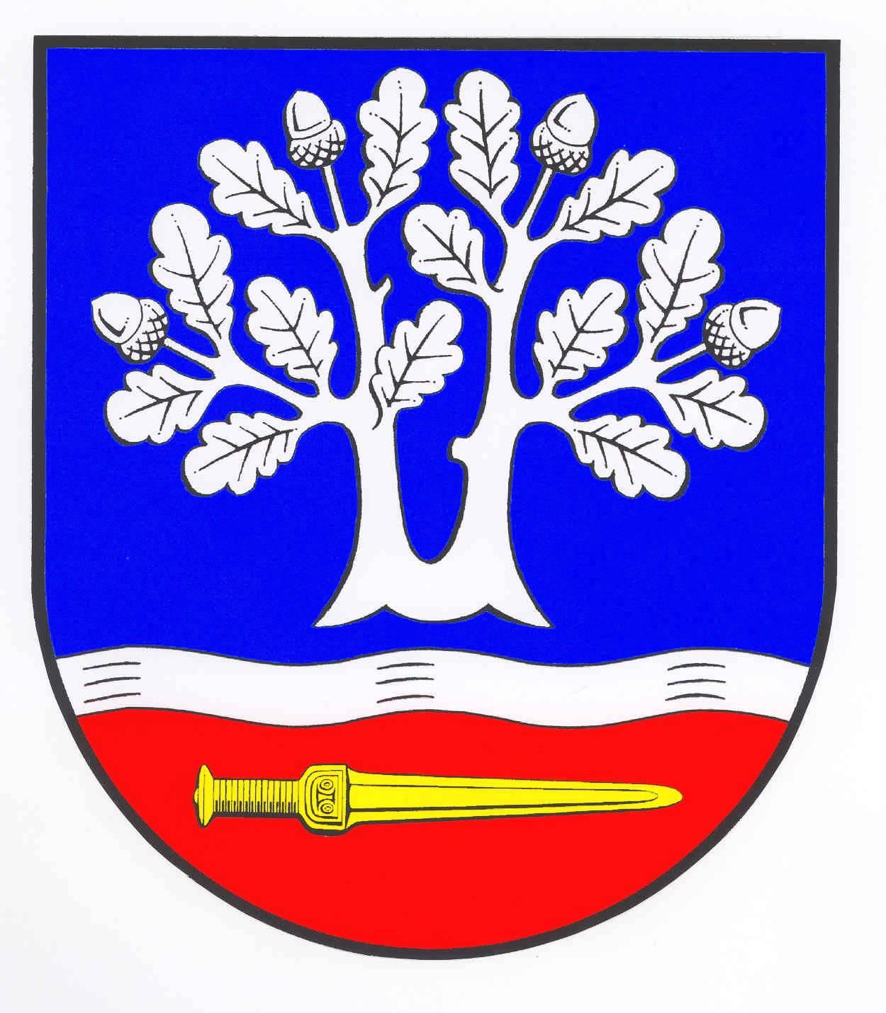 Wappen GemeindeLooft, Kreis Steinburg