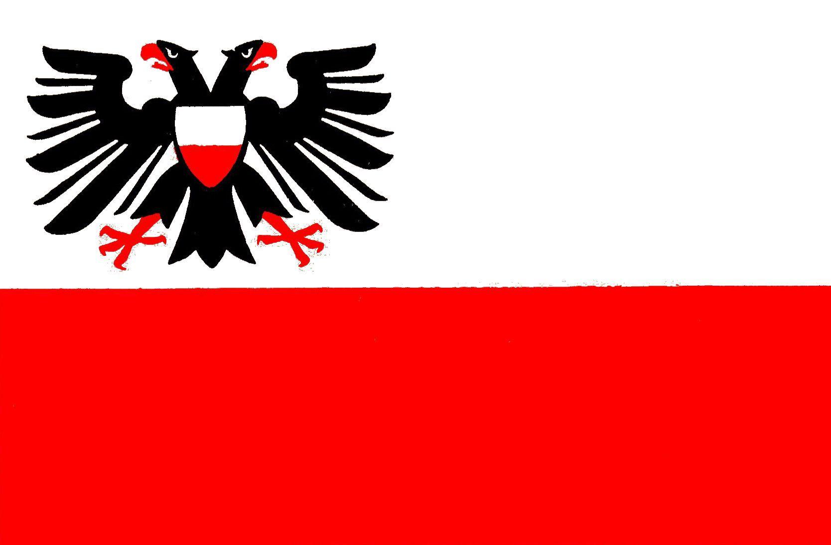 Flagge kreisfreie StadtLübeck