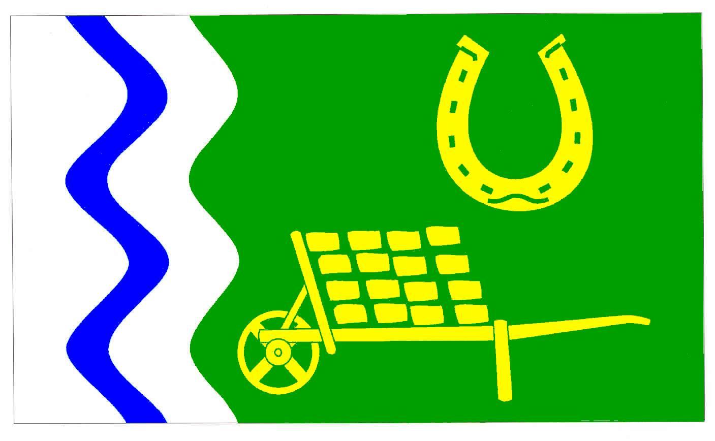 Flagge GemeindeLüchow, Kreis Herzogtum Lauenburg
