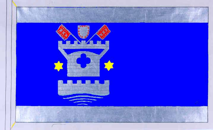 Flagge StadtLütjenburg, Kreis Plön