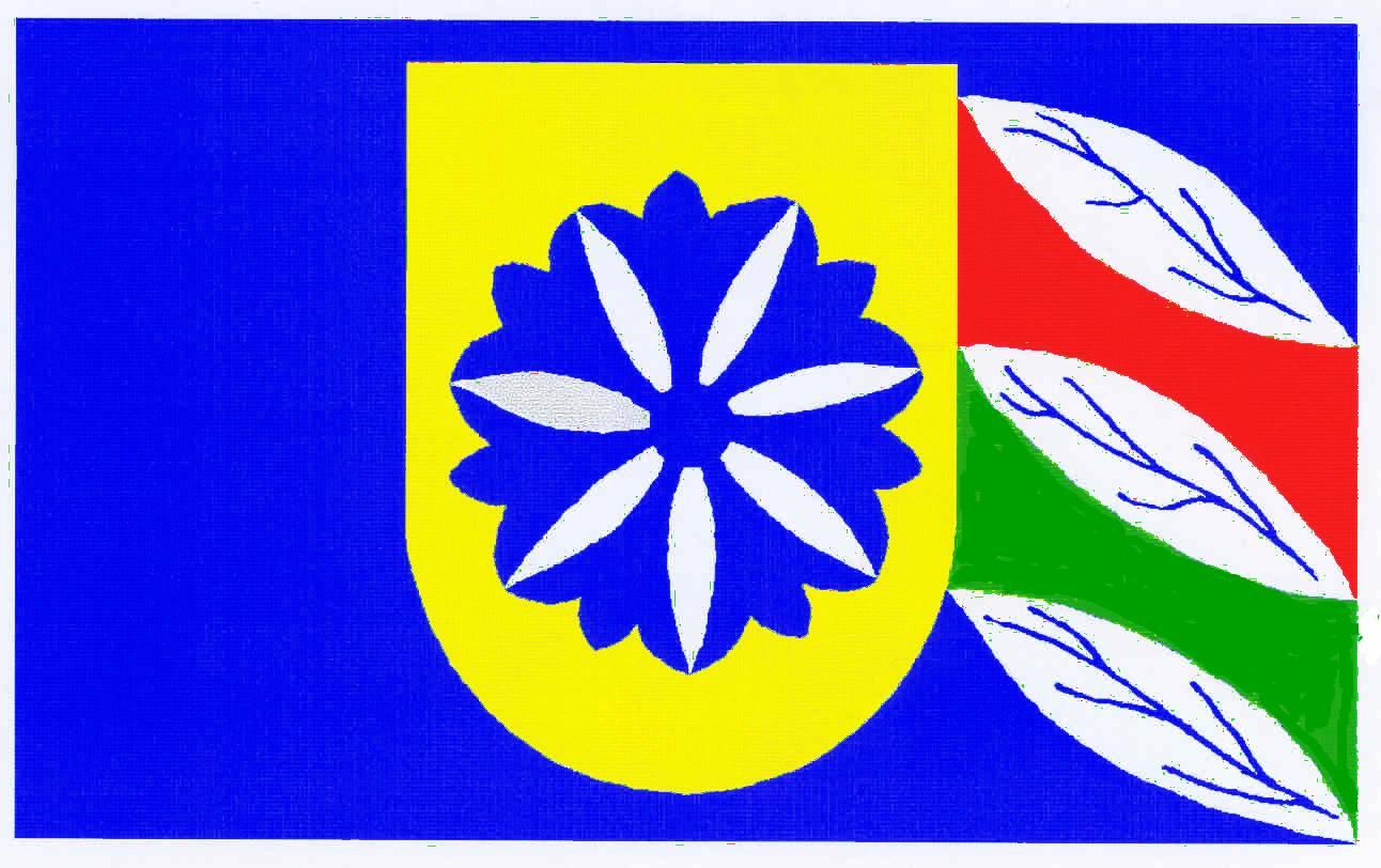 Flagge GemeindeLütjenholm, Kreis Nordfriesland