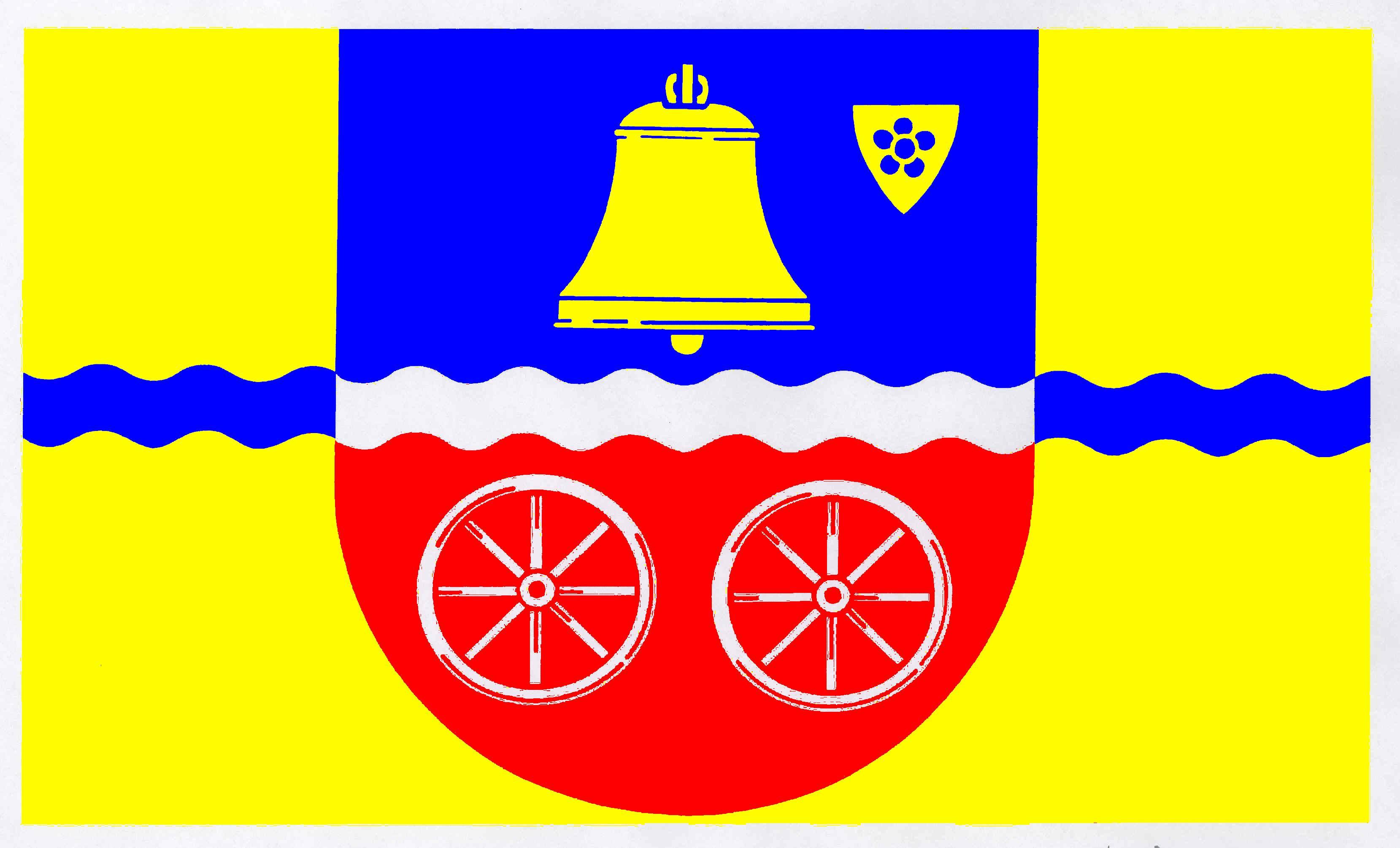 Flagge GemeindeLütjensee, Kreis Stormarn