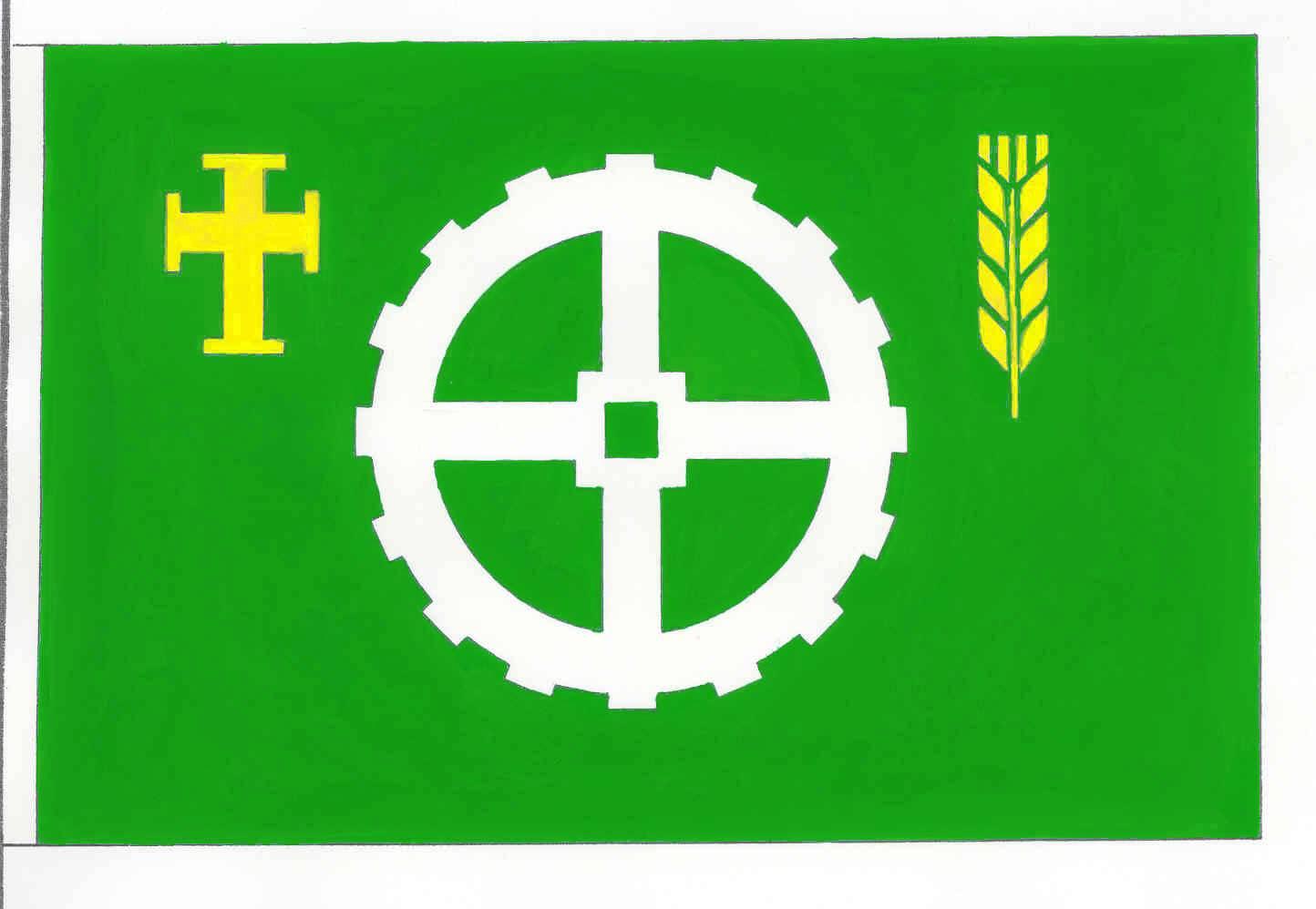 Flagge GemeindeLutterbek, Kreis Plön
