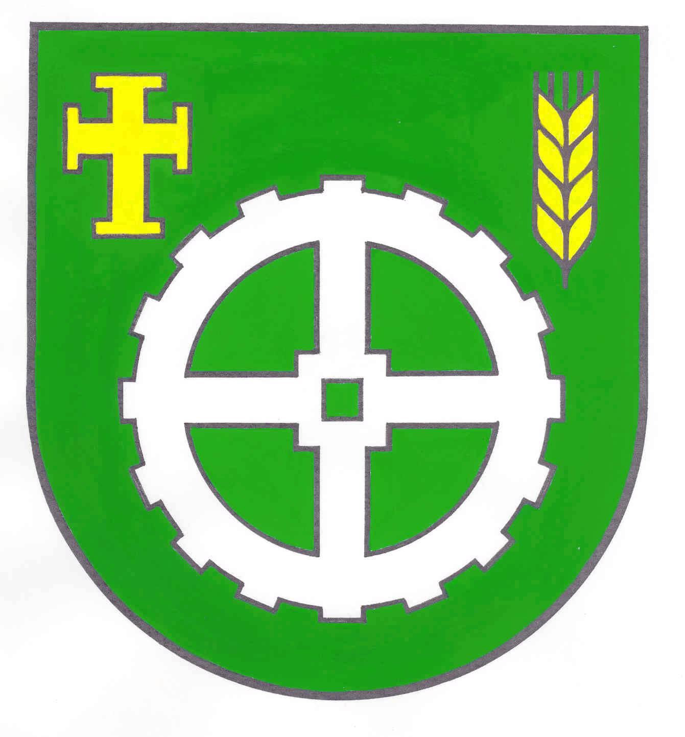 Wappen GemeindeLutterbek, Kreis Plön