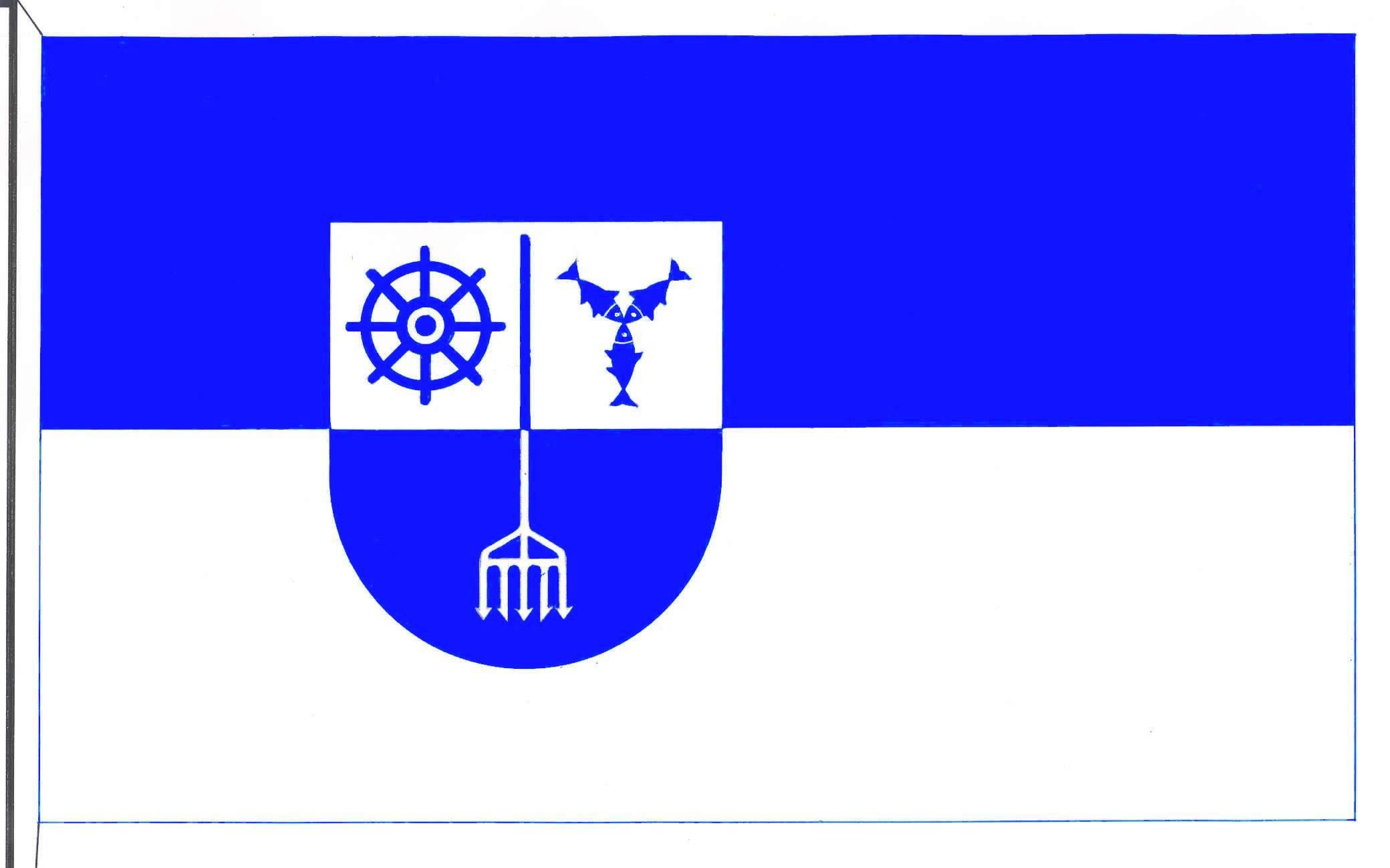 Flagge GemeindeMaasholm, Kreis Schleswig-Flensburg