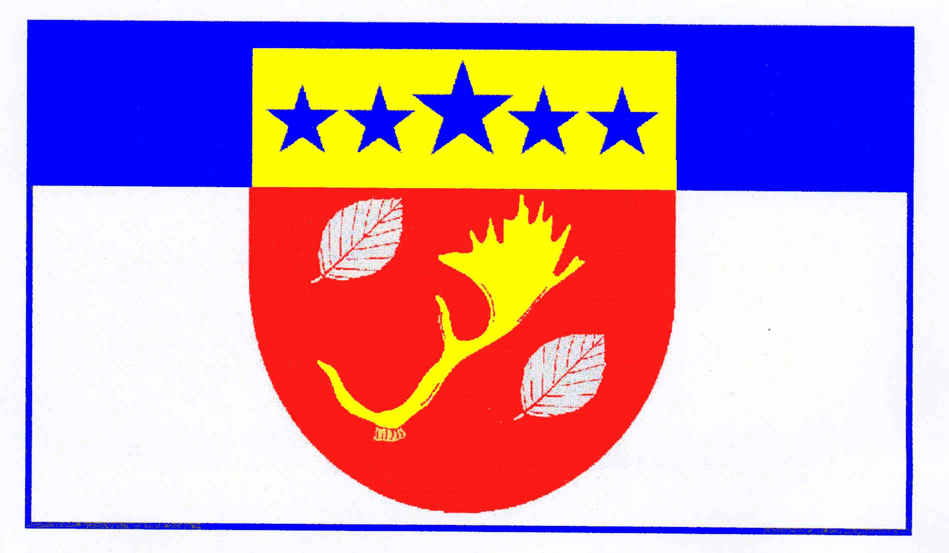 Flagge GemeindeManhagen, Kreis Ostholstein