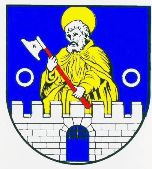 Wappen StadtMarne, Kreis Dithmarschen