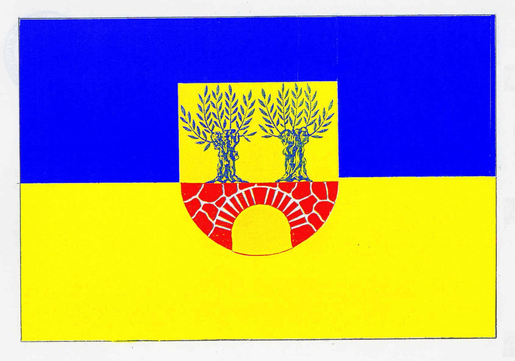 Flagge GemeindeMechow, Kreis Herzogtum Lauenburg