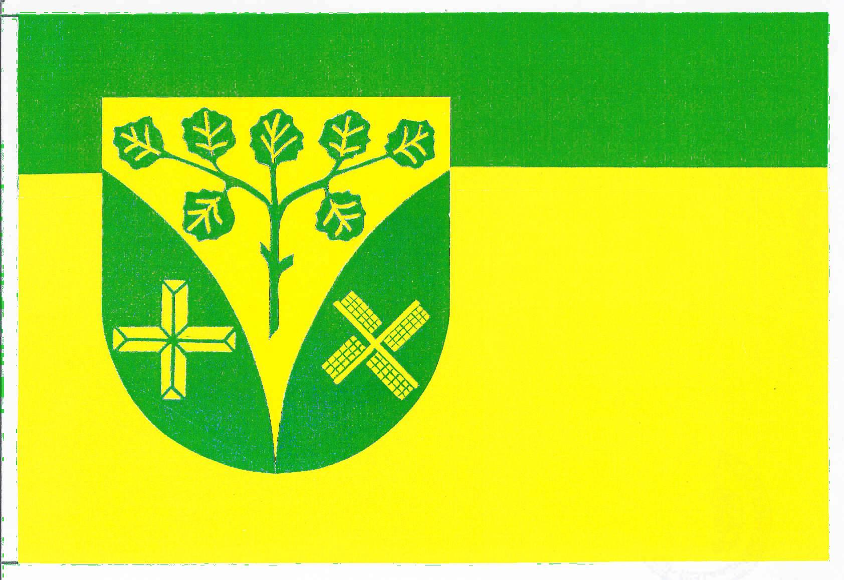 Flagge GemeindeMedelby, Kreis Schleswig-Flensburg