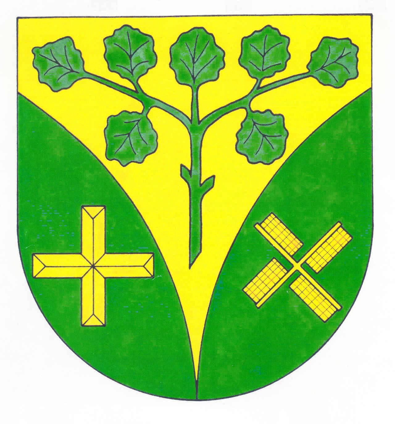 Wappen GemeindeMedelby, Kreis Schleswig-Flensburg