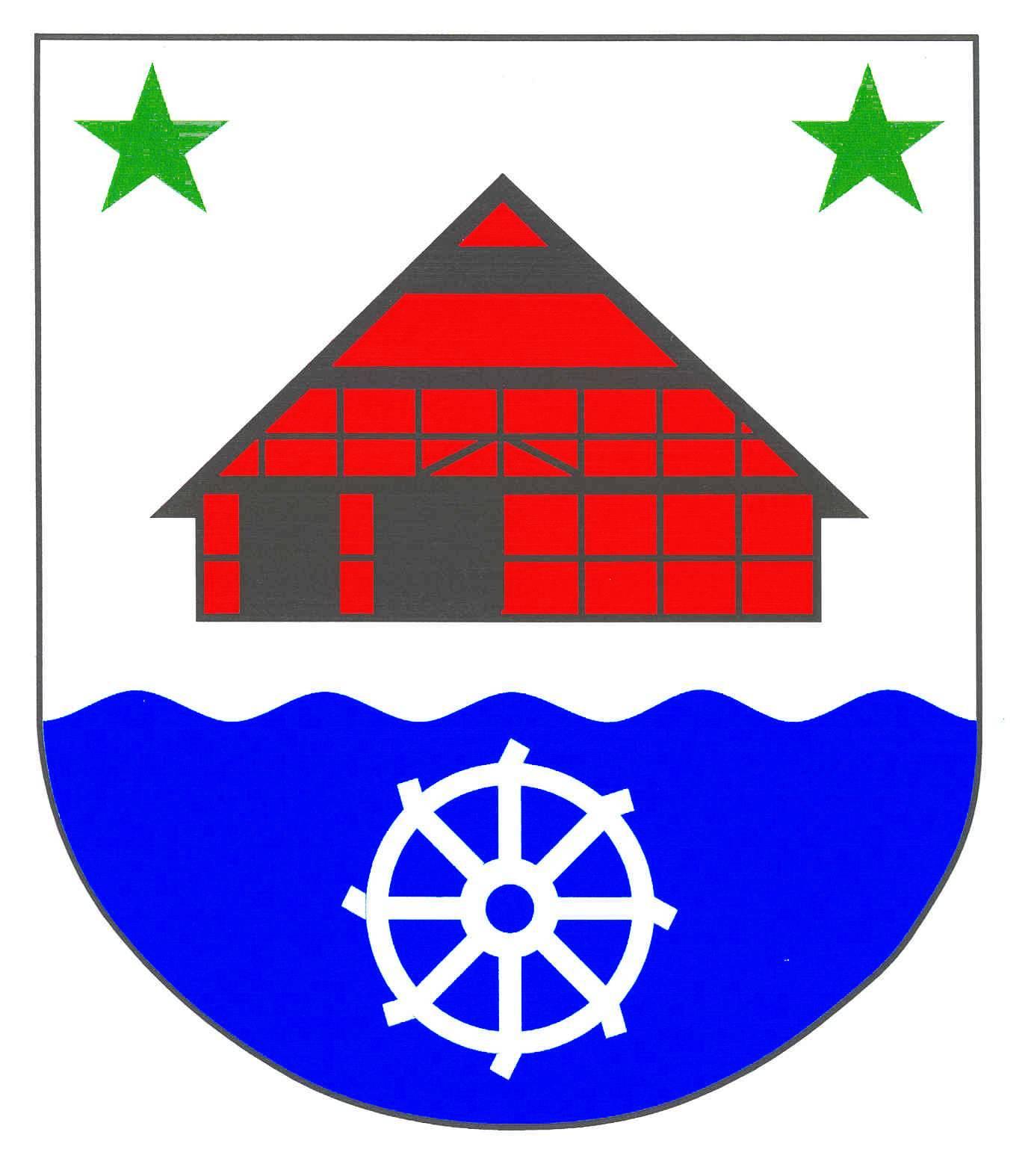 Wappen GemeindeMehlbek, Kreis Steinburg