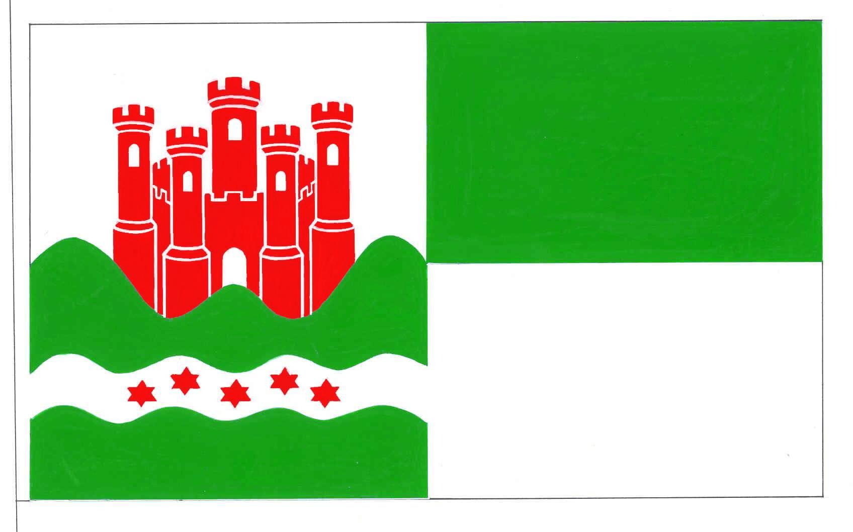 Flagge StadtMeldorf, Kreis Dithmarschen