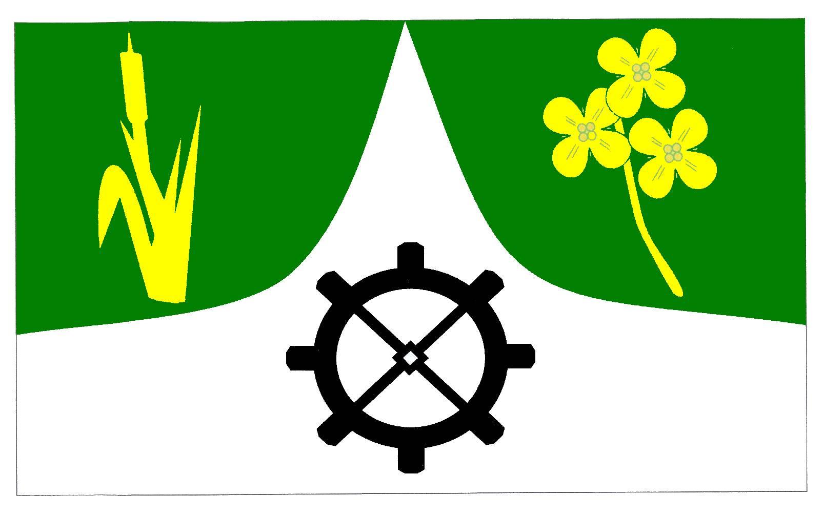 Flagge GemeindeMöhnsen, Kreis Herzogtum Lauenburg