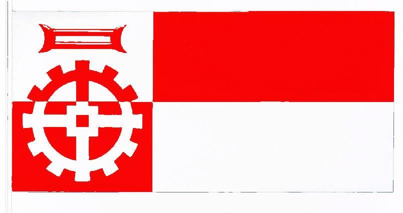 Flagge StadtMölln, Kreis Herzogtum Lauenburg